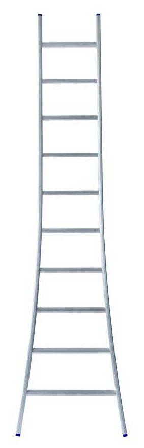 Eurostairs enkele ladder uitgebogen 2