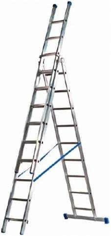 driedelige ladder